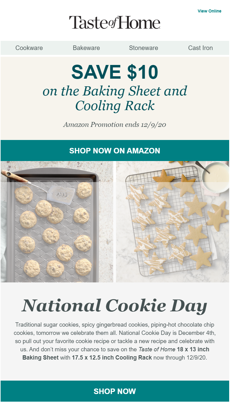National Cookie Day campaign