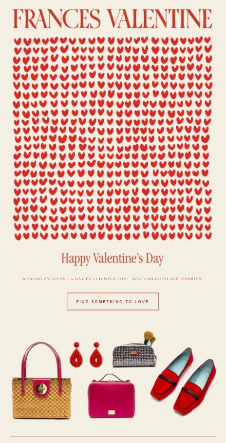 Happy Valentine's email