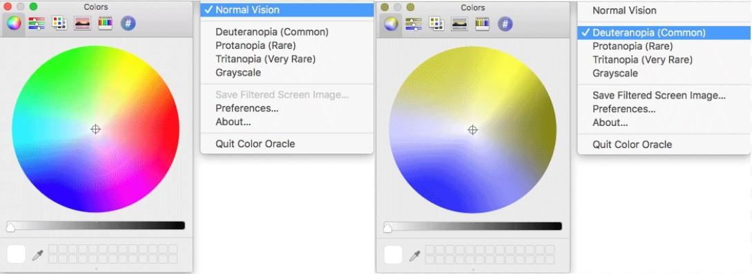 Особенности цветовосприятия