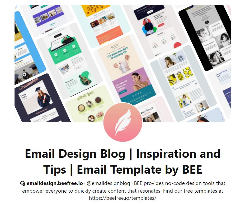 Аккаунт Email Design Workshop идеи лучших рассылок, практики, инструкции по оформлению email рассылки