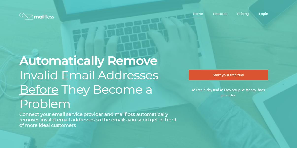 Интерфейс Mailfloss