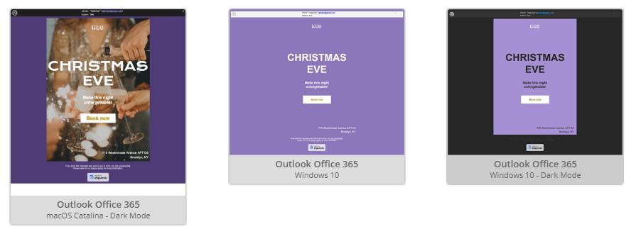 Email Dark Mode