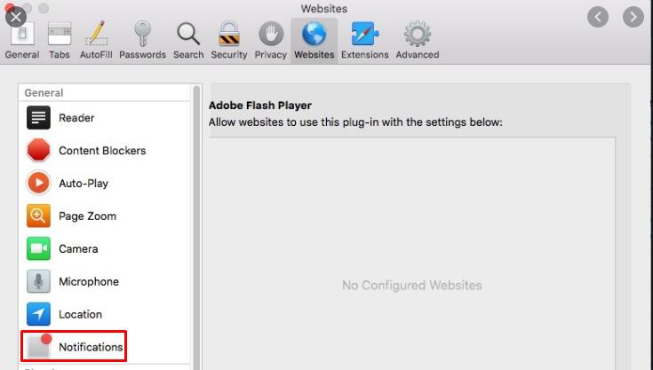 push notifications in Safari
