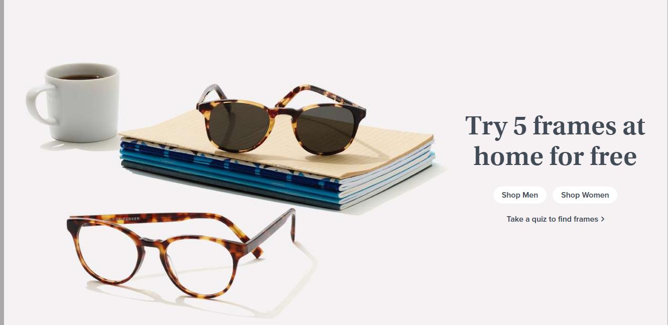 Пример УТП компании Warby Parker