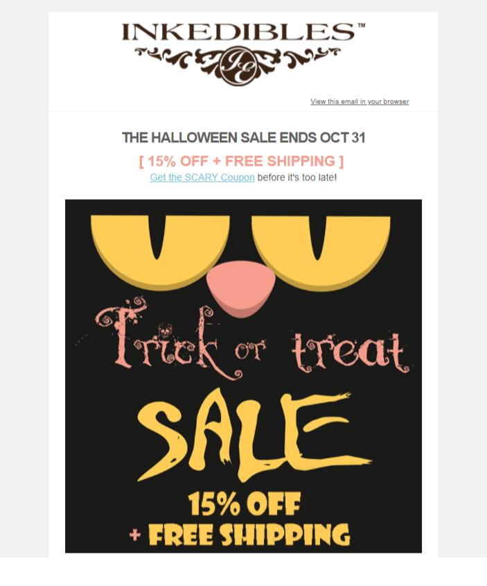 Лаконичное письмо к Хэллоуину