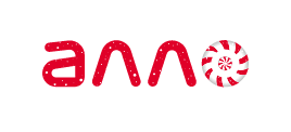 Праздничный логотип АЛЛО
