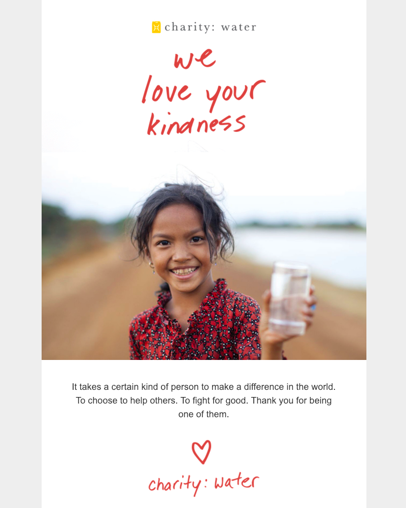November email ideas: Kindness Day campaign