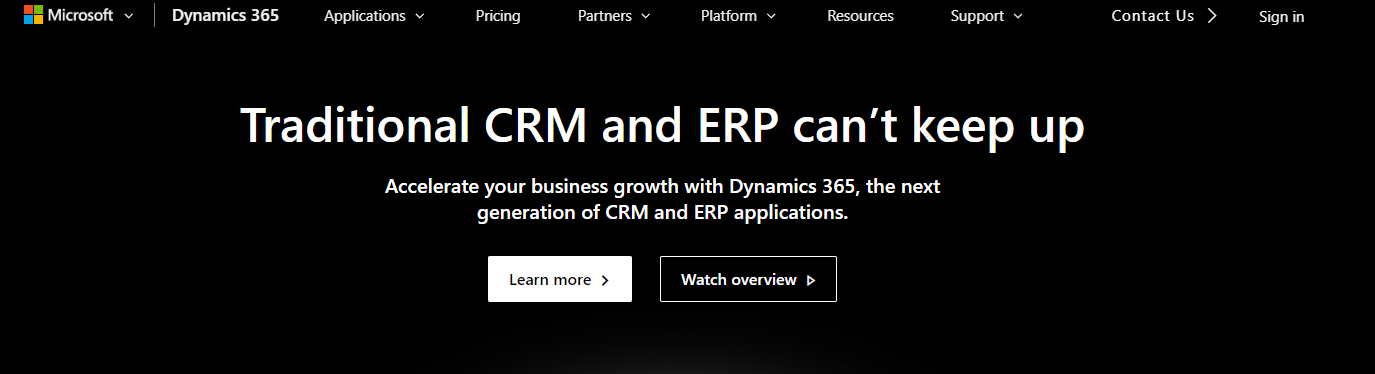 Dynamics 365 for marketing