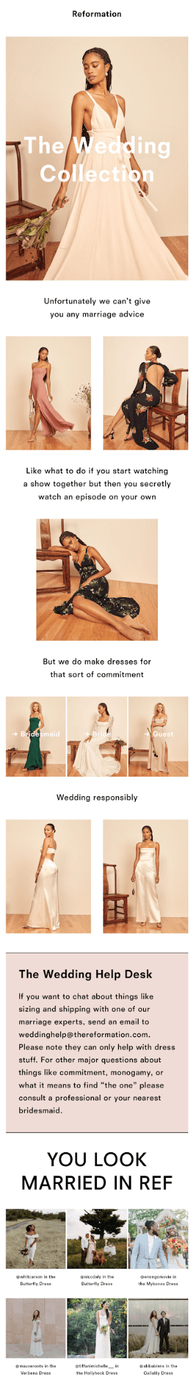 Best examples of user-generated content in emails