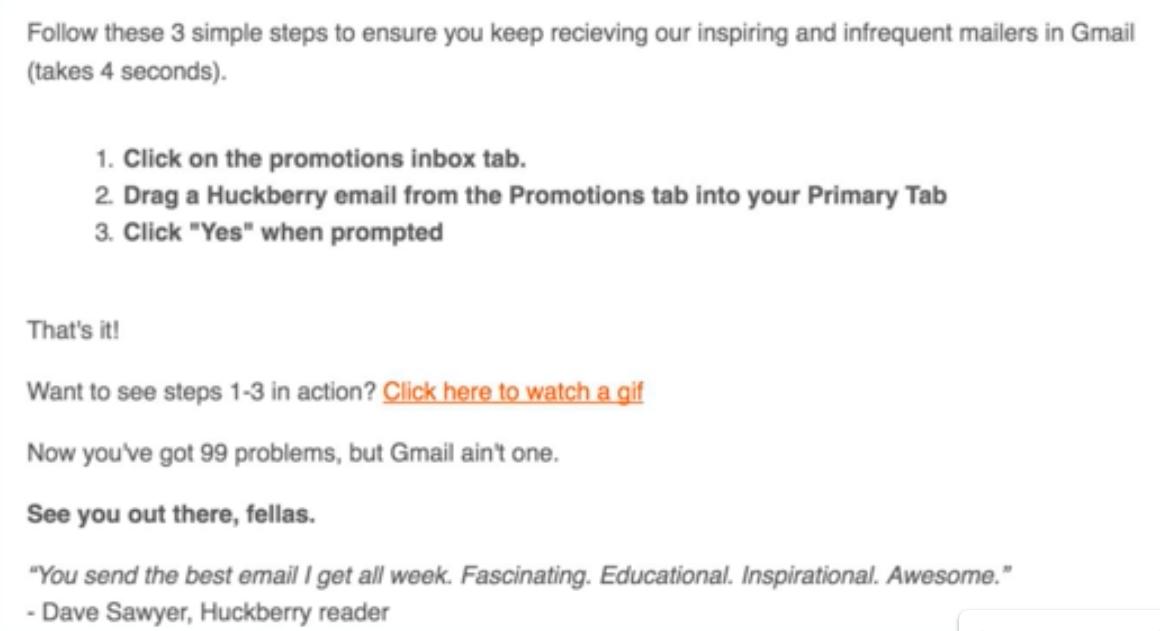 Gmail primary inbox