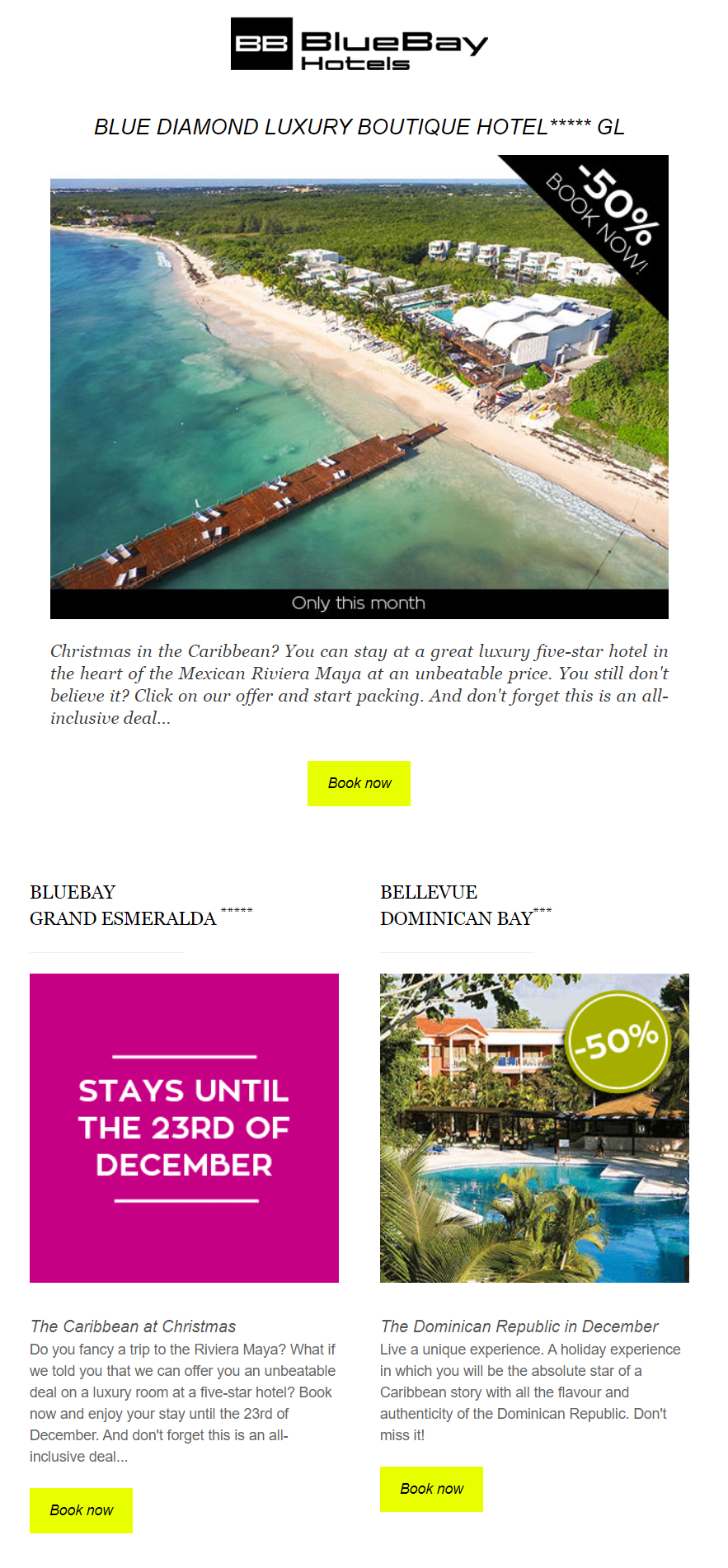 Creative hotel marketing campaigns