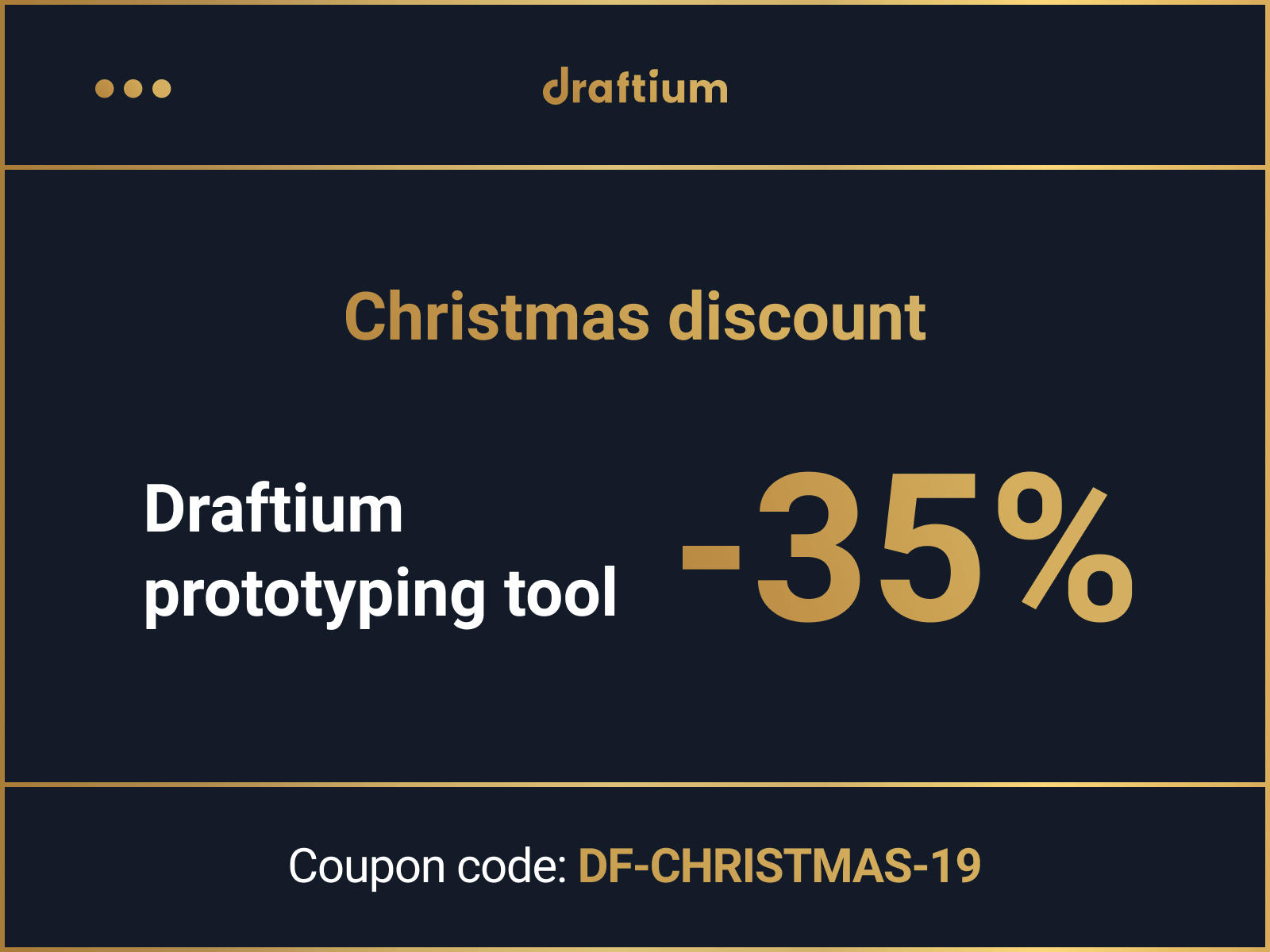 Christmas offer by SE Draftium