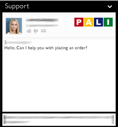 online support on pali.com