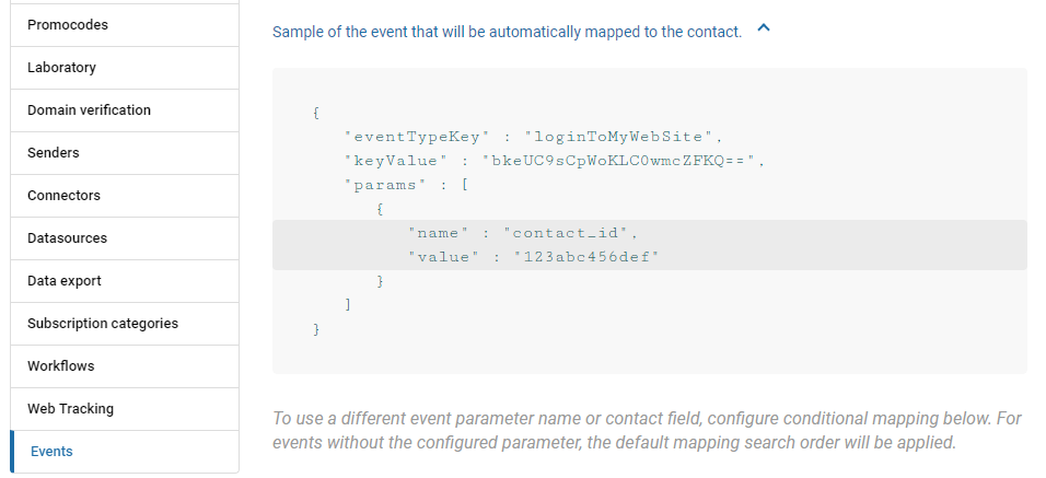 How to use segmentation by events
