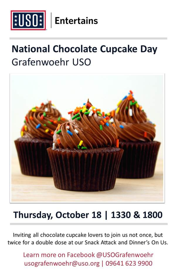 Special campaign for National Cupcake Day
