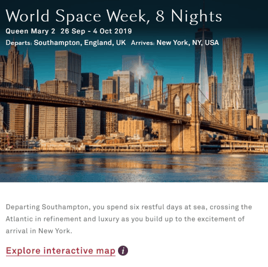Special offer for World Space Week