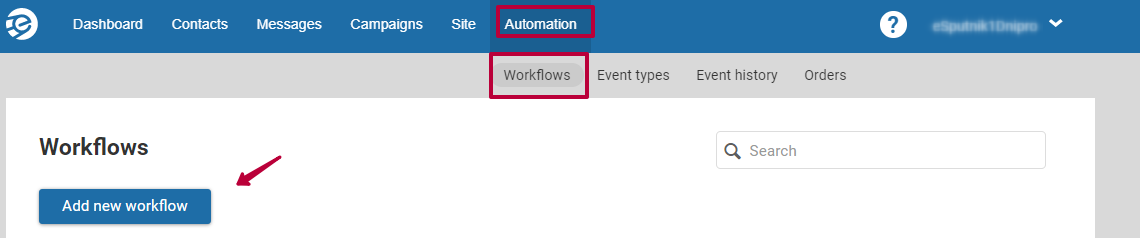 Add a workflow